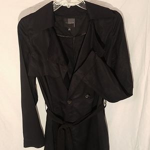 The limited brand black trench coat